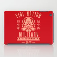 airbender iPad Cases featuring Fire is Fierce by adho1982