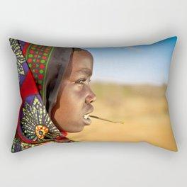 Borana Girl Rectangular Pillow