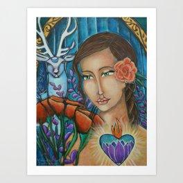 """Wisdom of the Heart"" Art Print"