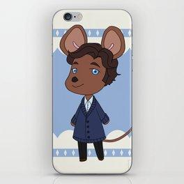 An adorable lab rat iPhone Skin