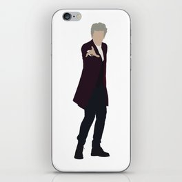 Twelfth Doctor: Peter Capaldi iPhone Skin