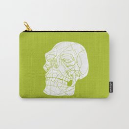 Skull Looking Left Carry-All Pouch