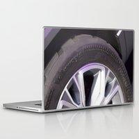 volkswagen Laptop & iPad Skins featuring Volkswagen Taigun tire by Mauricio Santana
