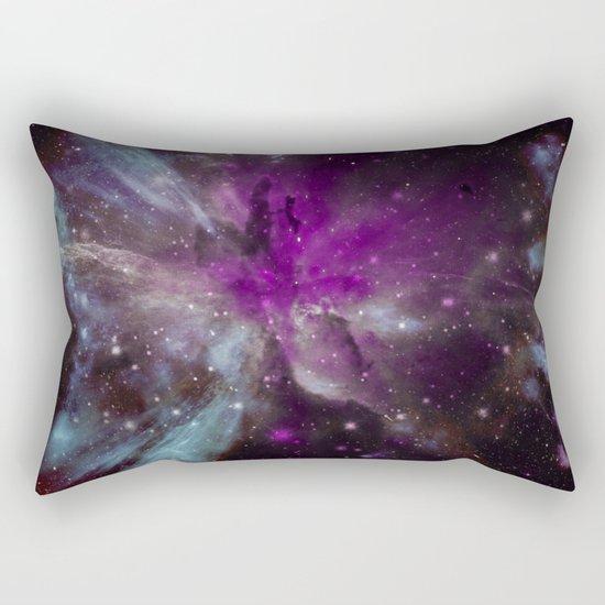 Creation of a Pink Nebula Rectangular Pillow