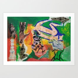 The Origin of Thought Art Print