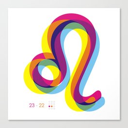 Leo ~ Zodiac Canvas Print