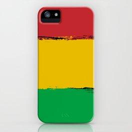 Rastafari iPhone Case