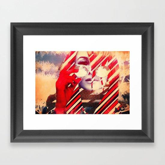 Coachella Gypsy Framed Art Print