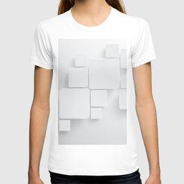 White tiles T-shirt