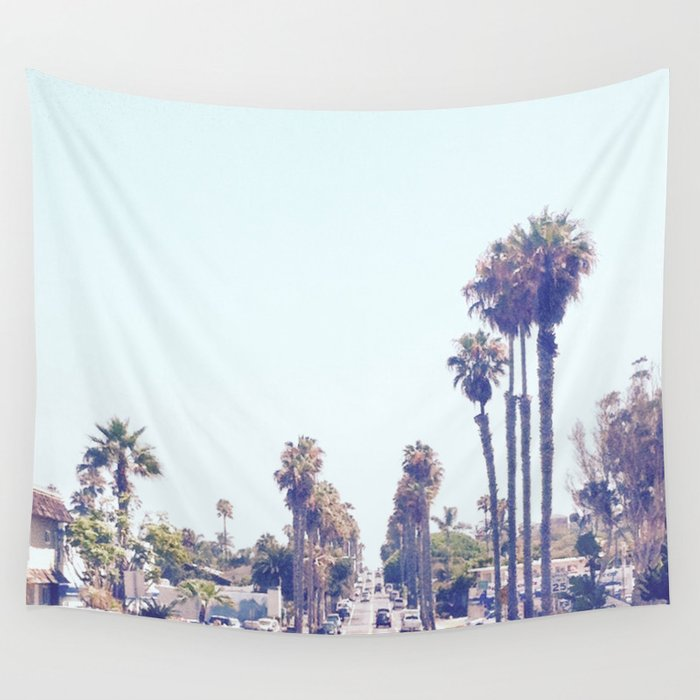 san-diego-street-wall-tapestry by society6