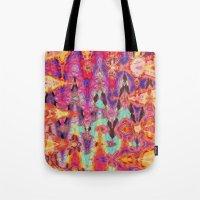 tie dye Tote Bags featuring Tie Dye  by Ingrid Padilla