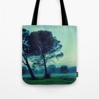 illusion Tote Bags featuring Illusion by Anna Andretta