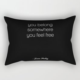 Tom Petty Rectangular Pillow
