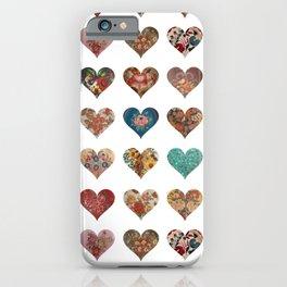 I love Vintage iPhone Case