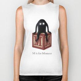 M is for Monster Biker Tank