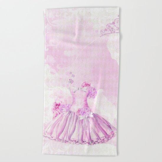 Ballerina #3 Beach Towel
