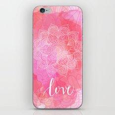 Love Mandala iPhone & iPod Skin