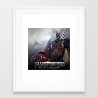 transformers Framed Art Prints featuring transformers  , transformers  games, transformers  blanket, transformers  duvet cover by ira gora