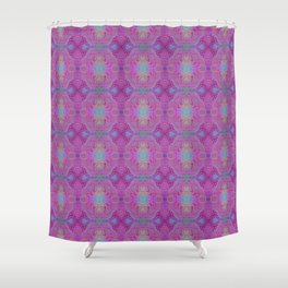 Tryptile 45b (Repeating 2) Shower Curtain