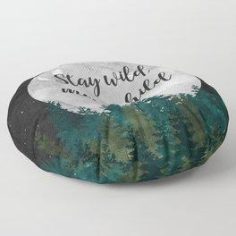 Stay Wild Moon Child Floor Pillow