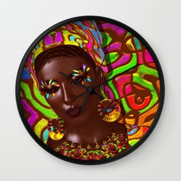Dreaming of Africa Wall Clock