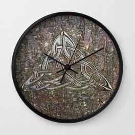 Celtic Bark From STURM GOTHIC I Wall Clock
