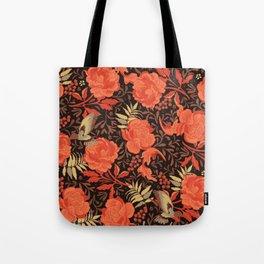 Art nouveau florals Tote Bag