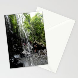 LH Waterfall People Stationery Cards