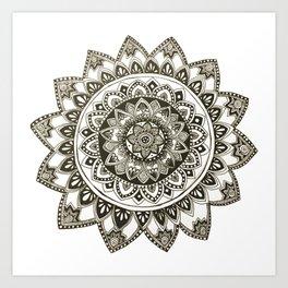 Fiji Mandala Art Print