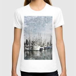 Shrimp Boats at the Pass Harbor T-shirt