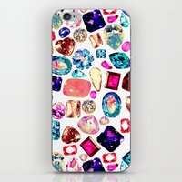 gem iPhone & iPod Skins featuring GEM by Liz Haywood