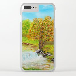 Family of Trees Clear iPhone Case
