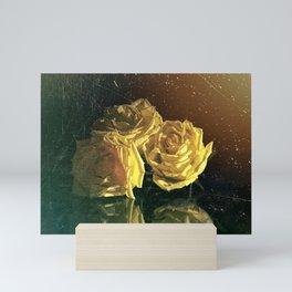 """""""La Rosa Amarilla"""" Mini Art Print"""