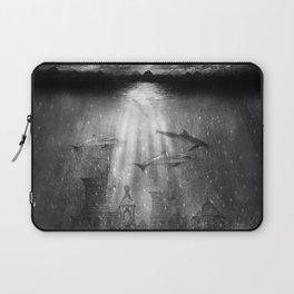 dolphins, civilization. Laptop Sleeve