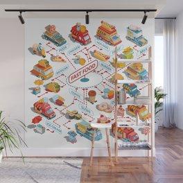 fast food Wall Mural