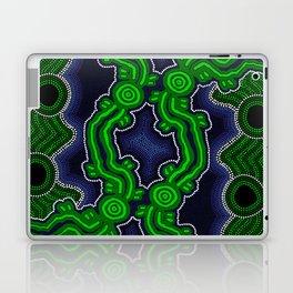 Aboriginal Art - After the Rain Laptop & iPad Skin