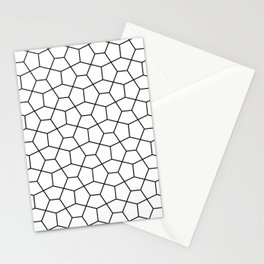 Moroccan Diamonds B&W Stationery Cards