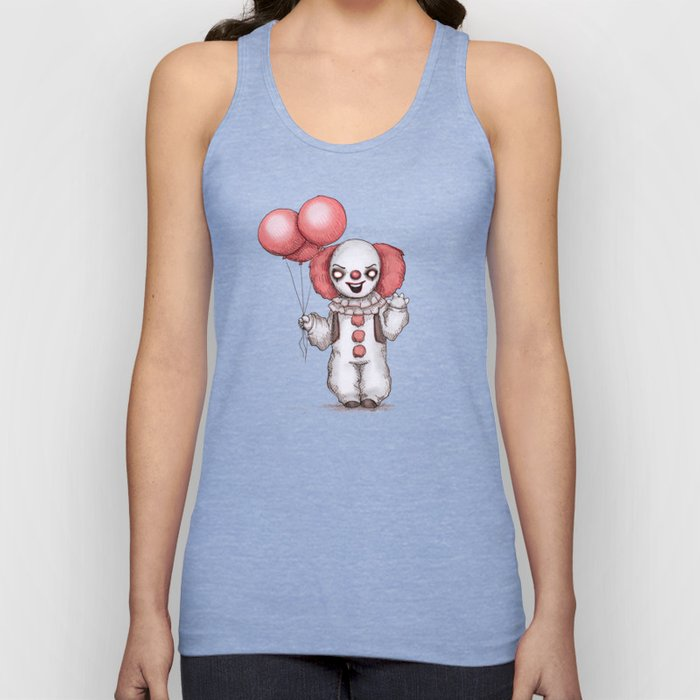 They All Float Down Here Unisex Tank Top