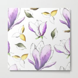 FLOWERS DAY Metal Print