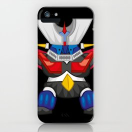 """MAZINGER Z """"THE KING"""" iPhone Case"""
