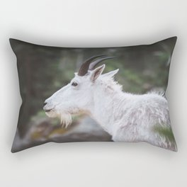 Mountain Goat in Black Hills National Forest Rectangular Pillow