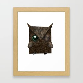 Búho Cornudo. Horned Owl. (1/20) Framed Art Print