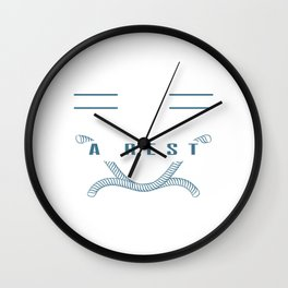 """Guilty Of Resisting A Rest"" tee design. Makes a nice and unique gift to your family and friend too! Wall Clock"