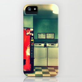 Laundry day. iPhone Case