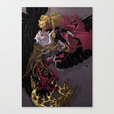 Three Eyed Crow Canvas Print