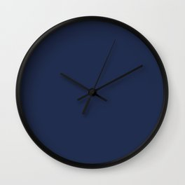 Dark Sargasso Blue 2018 Fall Winter Color Trends Wall Clock