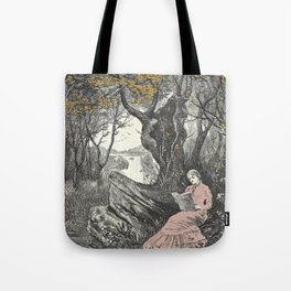Sweet Bookish Solitude Tote Bag