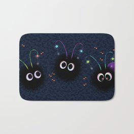 Cute monsters Bath Mat