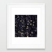 sparkles Framed Art Prints featuring Sparkles by Scarlet