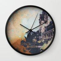 castlevania Wall Clocks featuring Castlevania by Esco